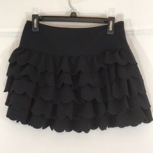 DKNY Tiered Skirt